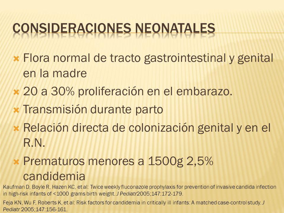 Consideraciones neonatales