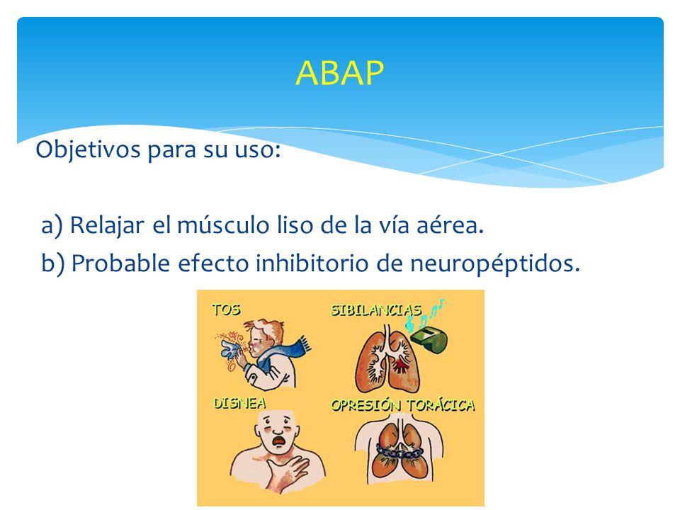 ABAP Objetivos para su uso: