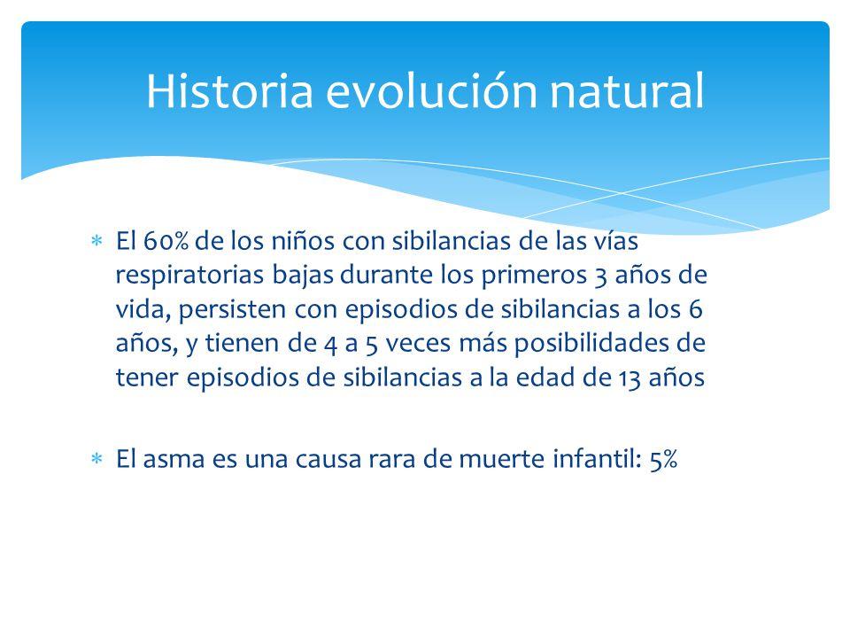 Historia evolución natural