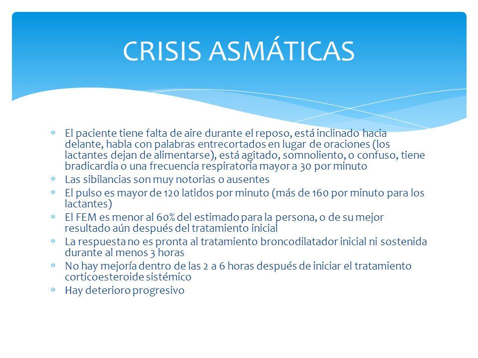 CRISIS ASMÁTICAS