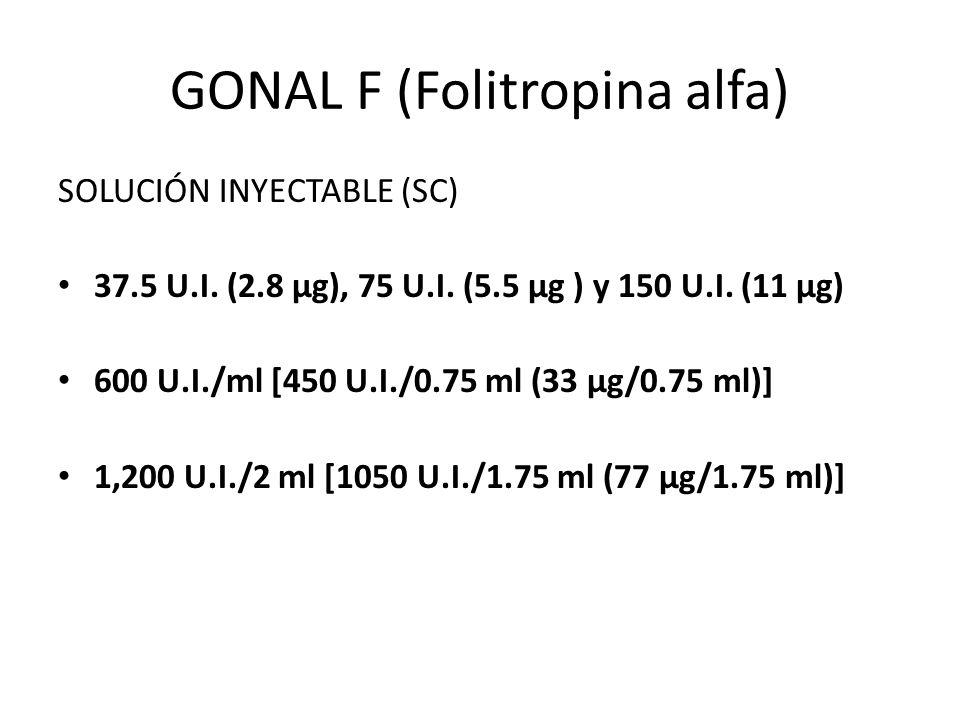 GONAL F (Folitropina alfa)