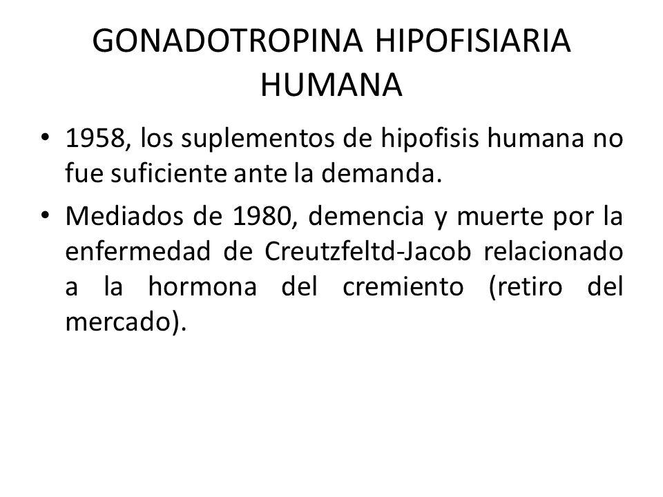 GONADOTROPINA HIPOFISIARIA HUMANA