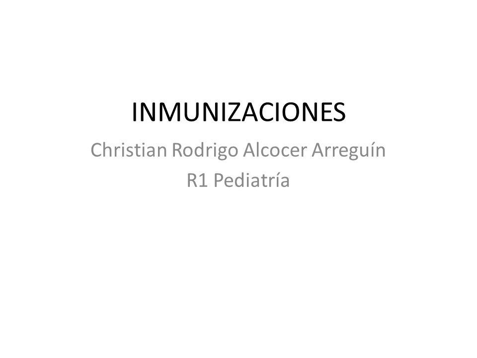 Christian Rodrigo Alcocer Arreguín R1 Pediatría