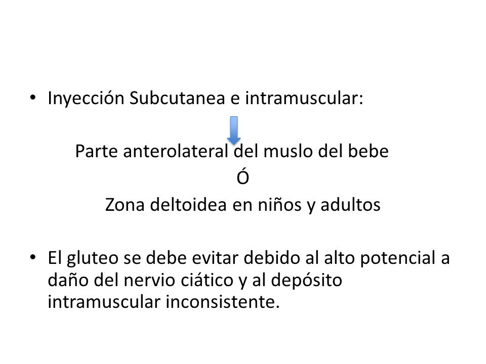Zona deltoidea en niños y adultos