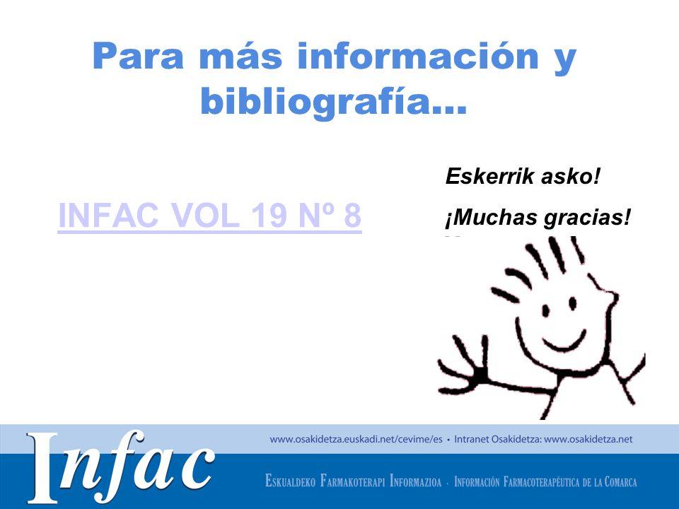 Para más información y bibliografía…