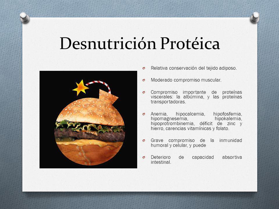 Desnutrición Protéica