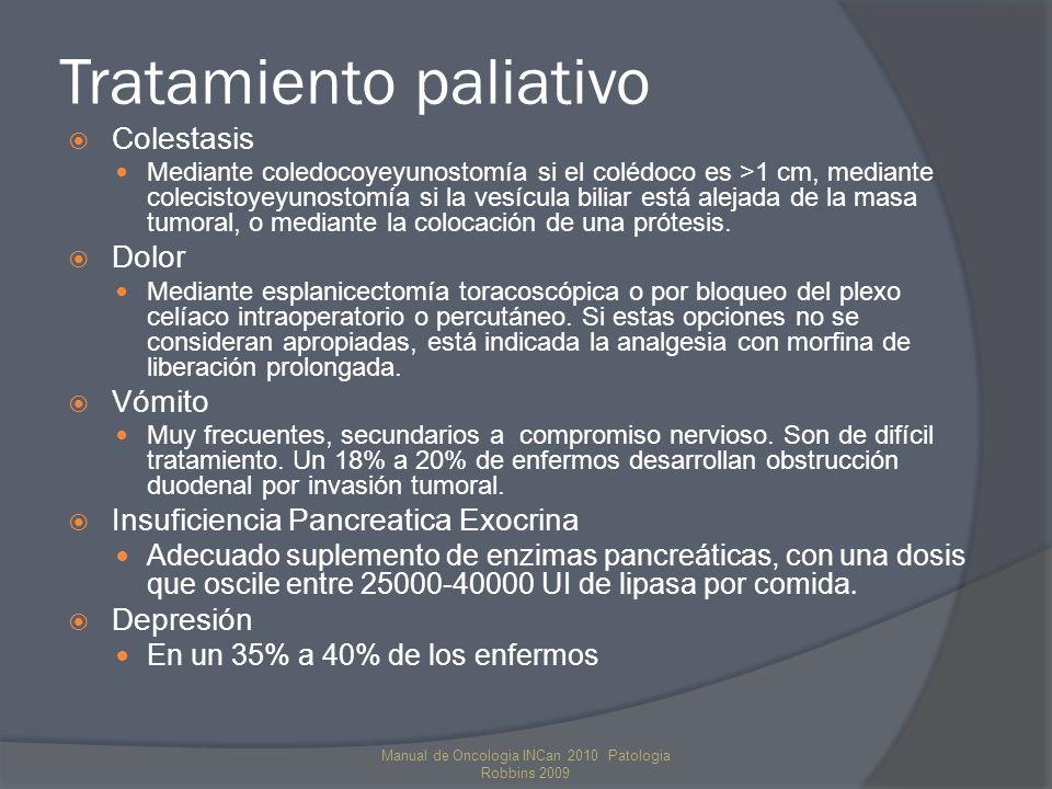 Tratamiento paliativo
