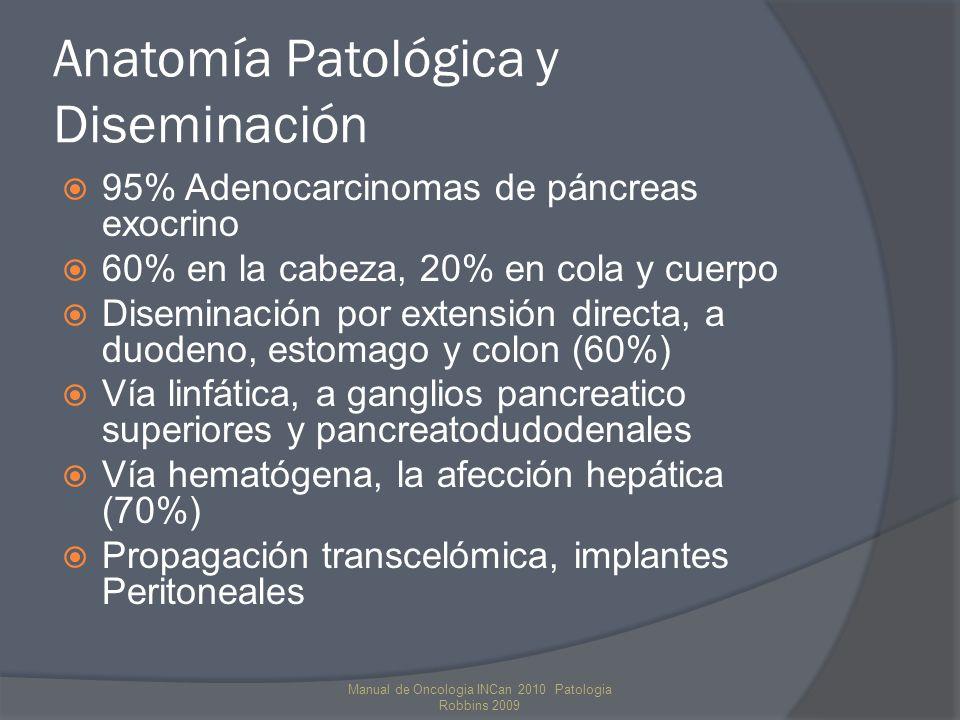 Anatomía Patológica y Diseminación