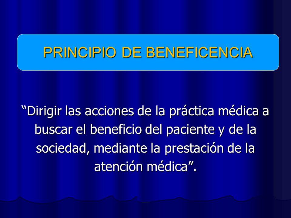 PRINCIPIO DE BENEFICENCIA
