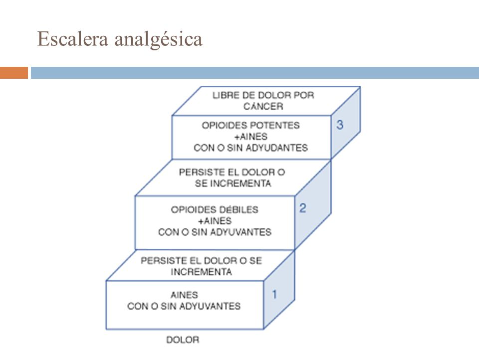 Escalera analgésica