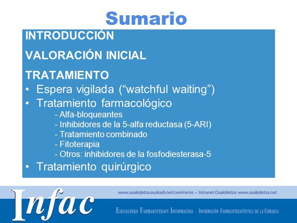 Sumario INTRODUCCIÓN VALORACIÓN INICIAL TRATAMIENTO