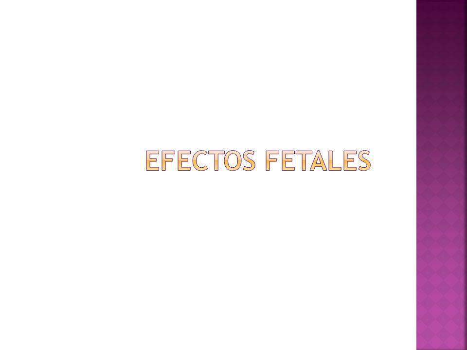 Efectos fetales