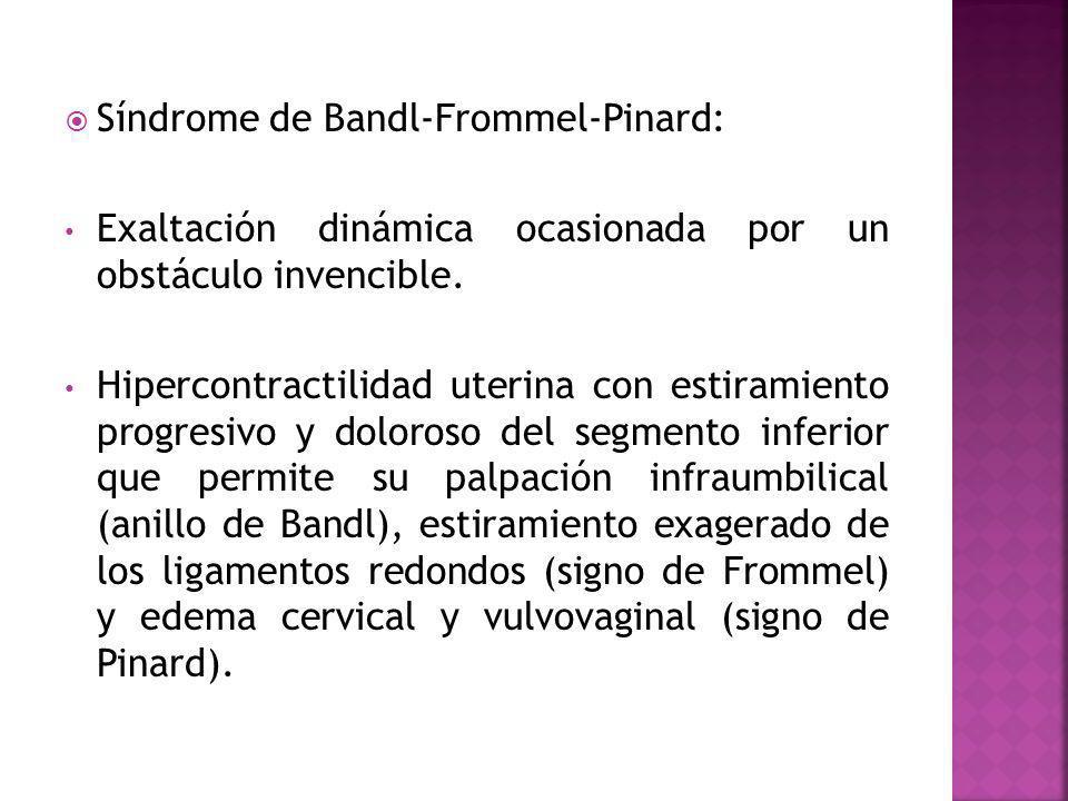 Síndrome de Bandl-Frommel-Pinard: