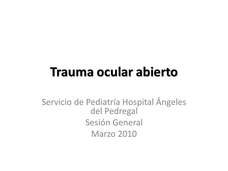 Servicio de Pediatría Hospital Ángeles del Pedregal
