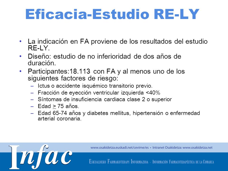 Eficacia-Estudio RE-LY