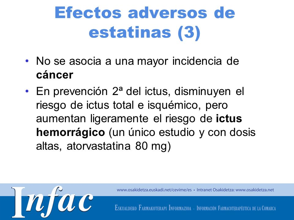 Efectos adversos de estatinas (3)