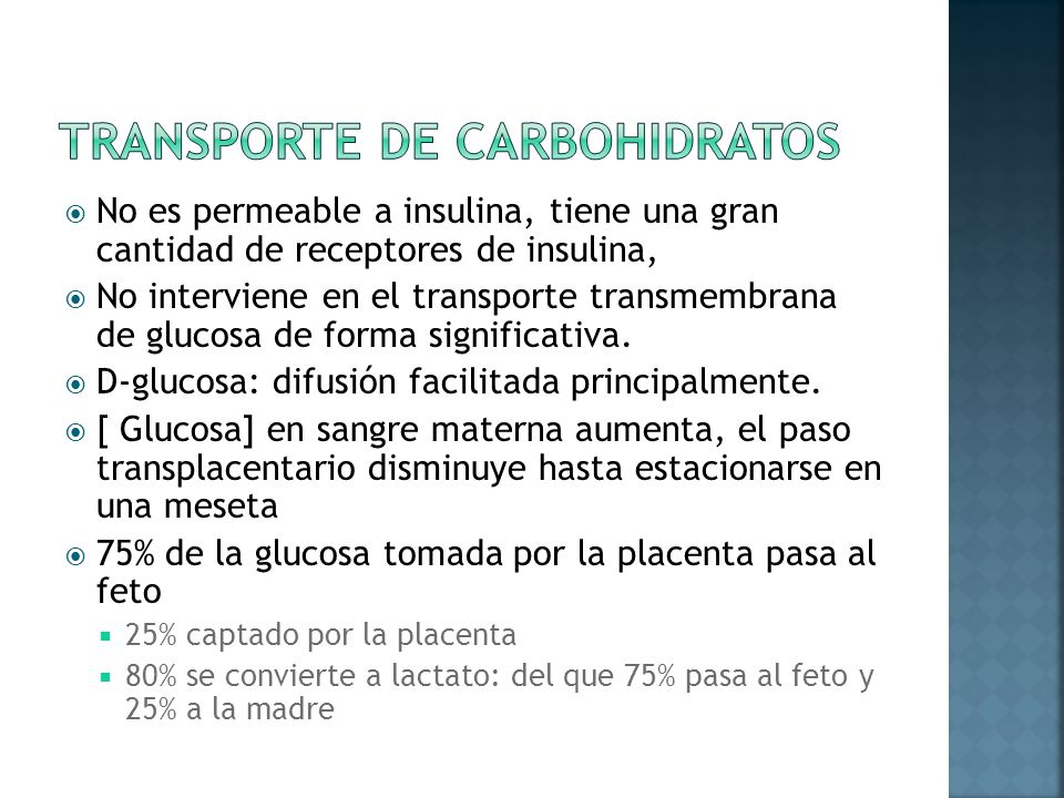 Transporte de Carbohidratos