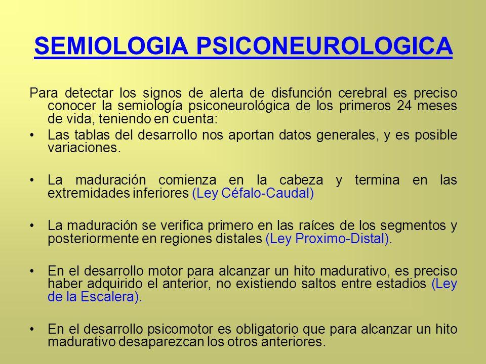 SEMIOLOGIA PSICONEUROLOGICA