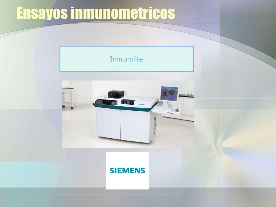 Ensayos inmunometricos