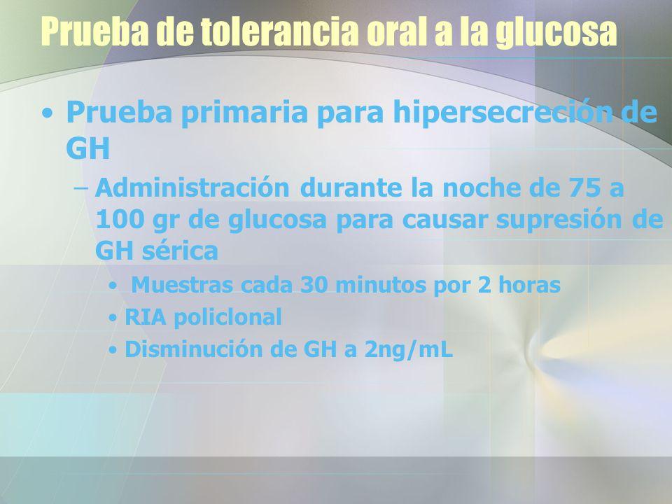 Prueba de tolerancia oral a la glucosa