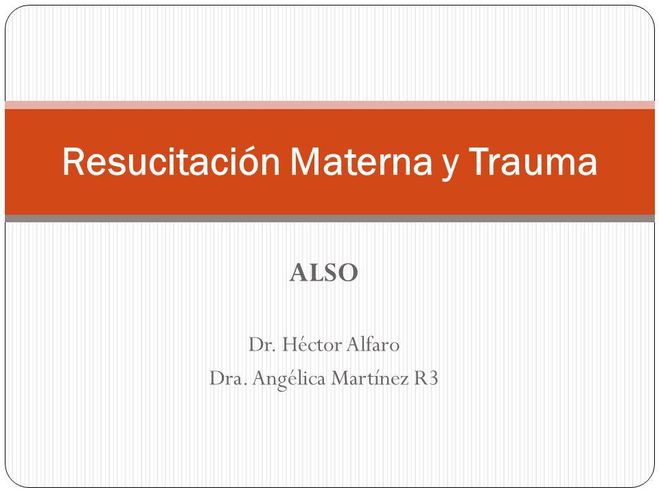 Resucitación Materna y Trauma
