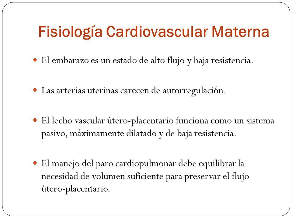 Fisiología Cardiovascular Materna