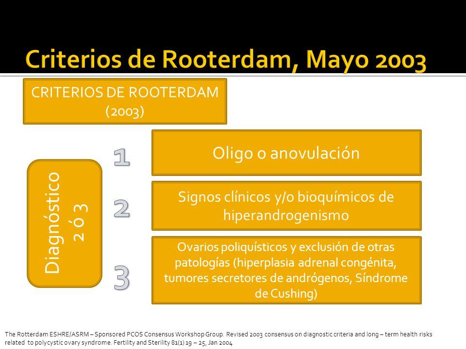 Criterios de Rooterdam, Mayo 2003