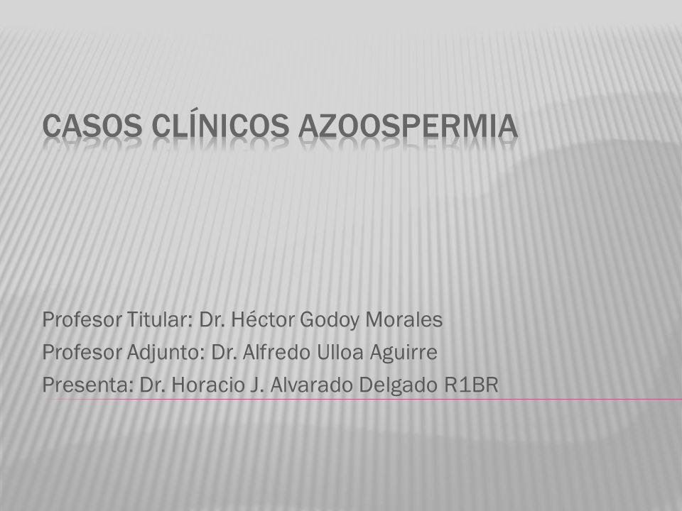 Casos clínicos Azoospermia