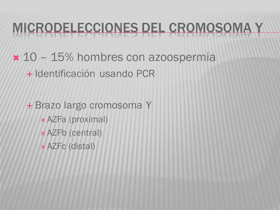 Microdelecciones del cromosoma y
