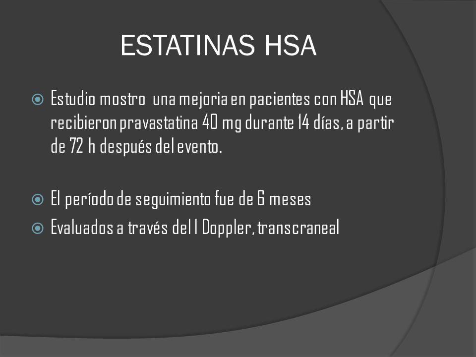ESTATINAS HSA