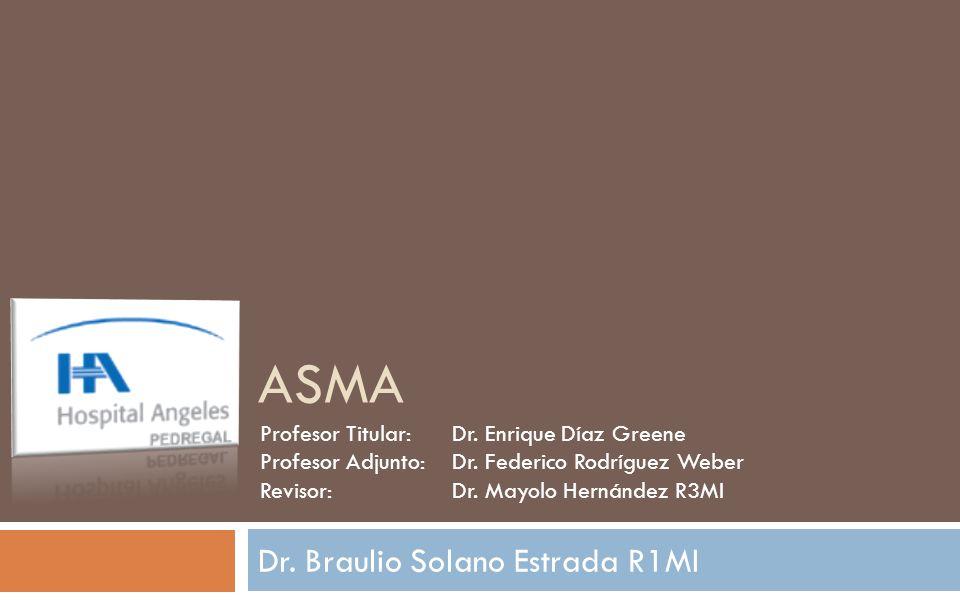 Dr. Braulio Solano Estrada R1MI