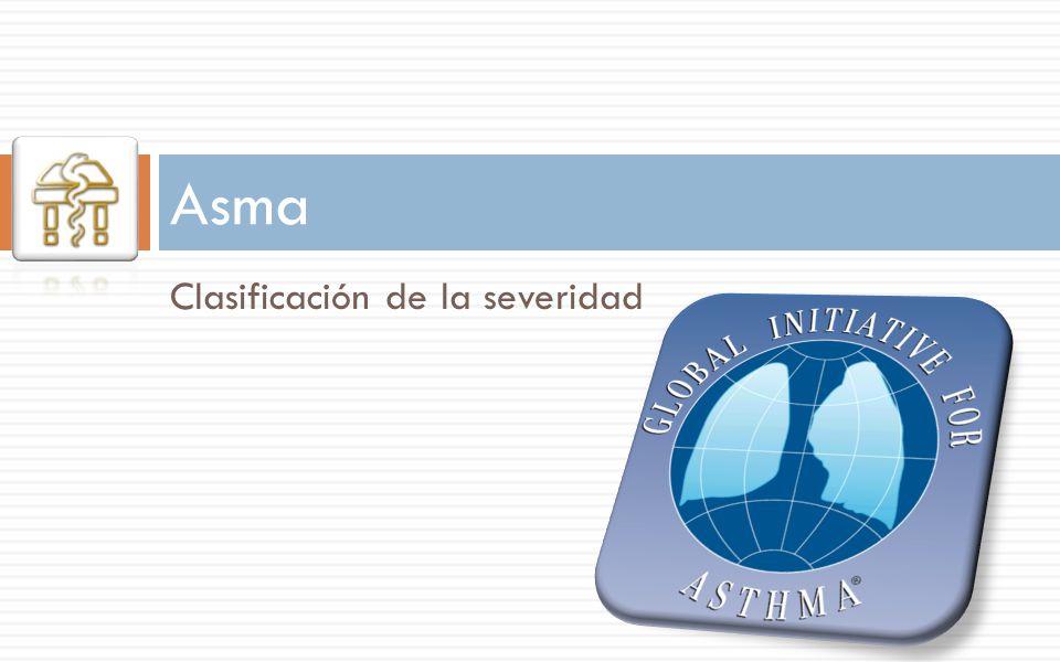 Asma Clasificación de la severidad