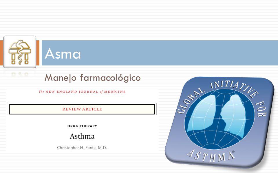 Asma Manejo farmacológico