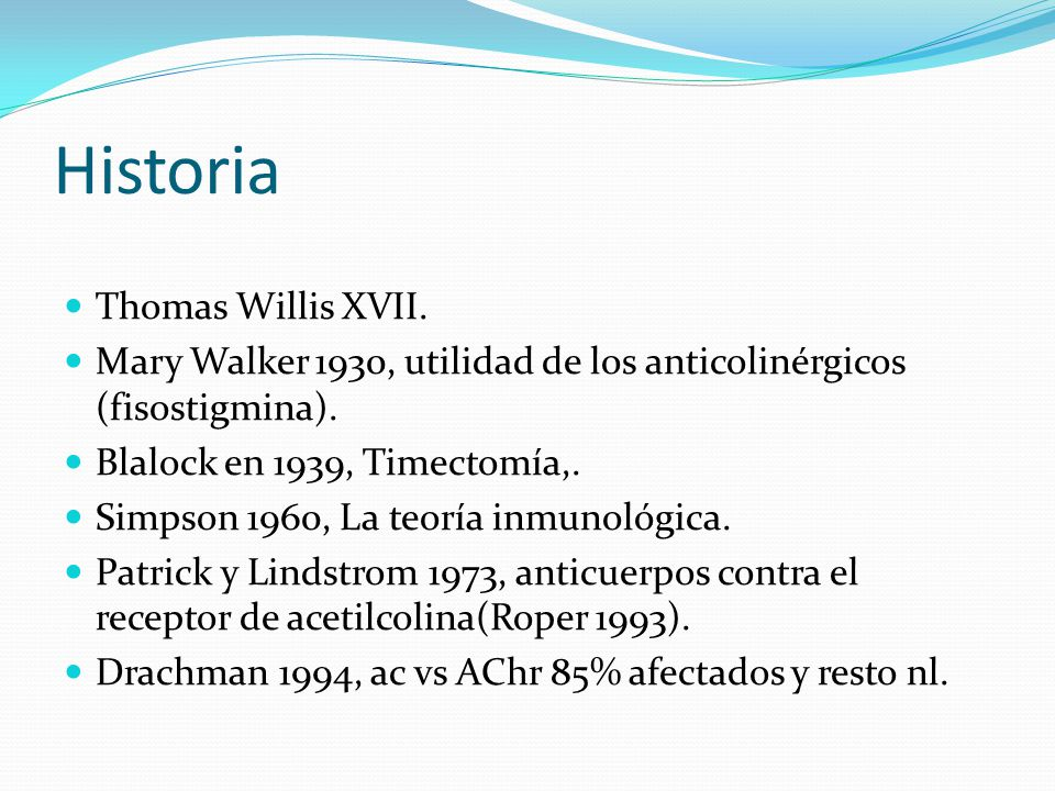 Historia Thomas Willis XVII.