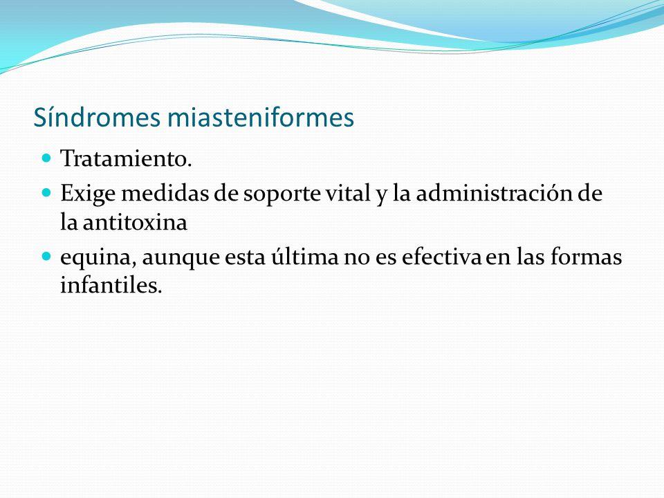 Síndromes miasteniformes