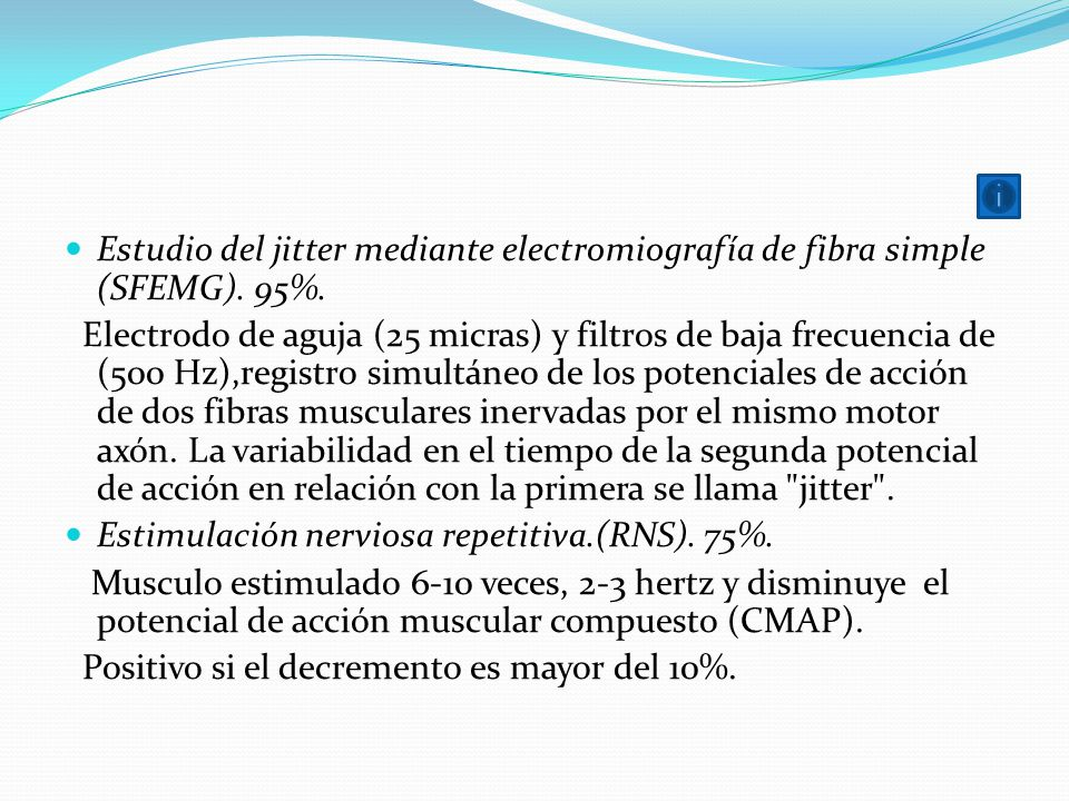 Estudio del jitter mediante electromiografía de fibra simple (SFEMG)