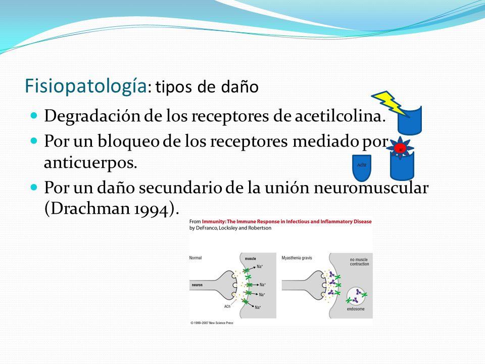 Fisiopatología: tipos de daño
