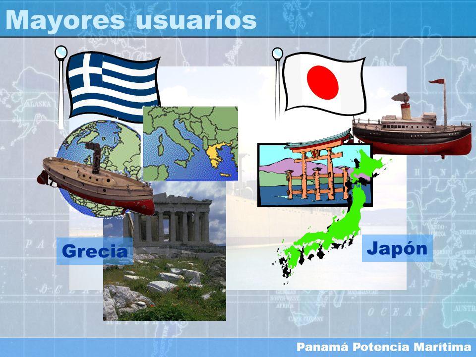 Mayores usuarios Japón Grecia