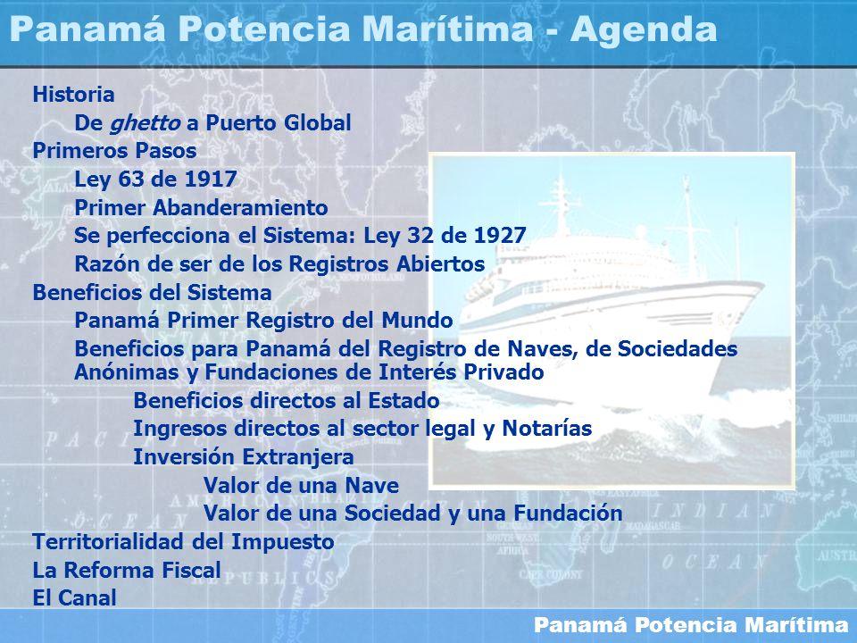 Panamá Potencia Marítima - Agenda