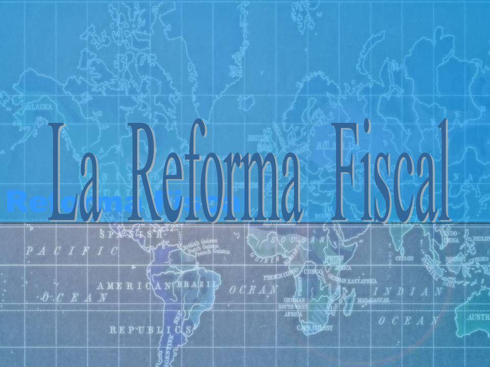 La Reforma Fiscal Reforma Fiscal Logos de asociaciones