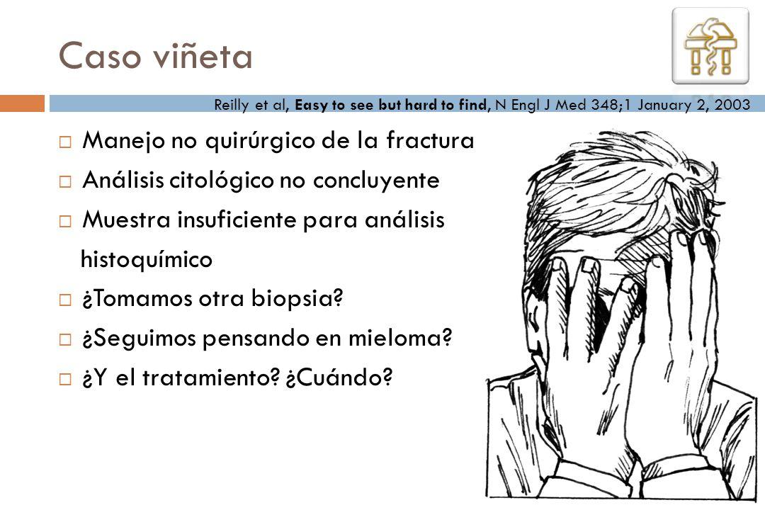 Caso viñeta Manejo no quirúrgico de la fractura