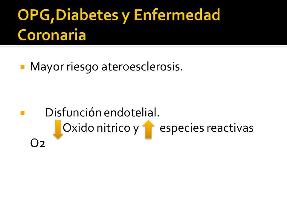 OPG,Diabetes y Enfermedad Coronaria