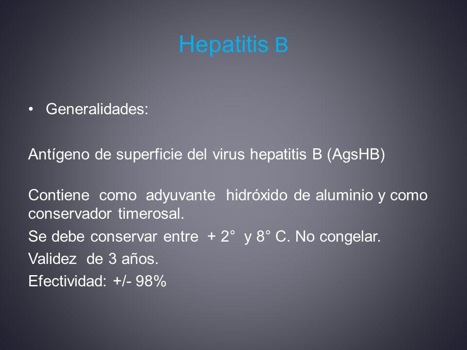 Hepatitis B Generalidades: