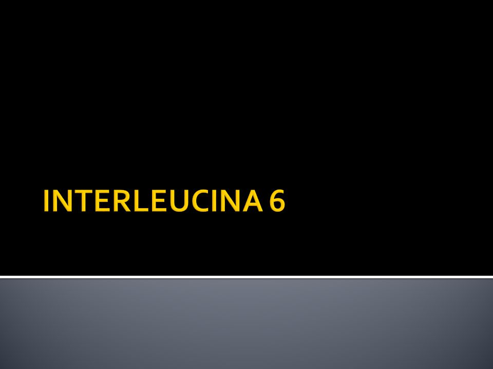 INTERLEUCINA 6