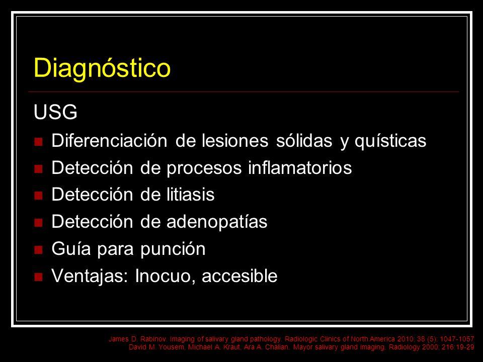 Diagnóstico USG Diferenciación de lesiones sólidas y quísticas