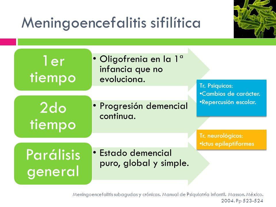 Meningoencefalitis sifilítica