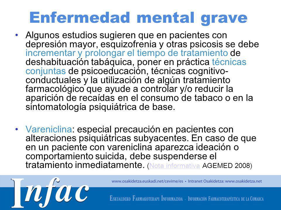 Enfermedad mental grave