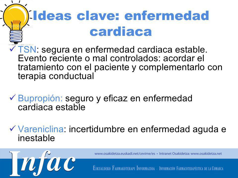 Ideas clave: enfermedad cardiaca