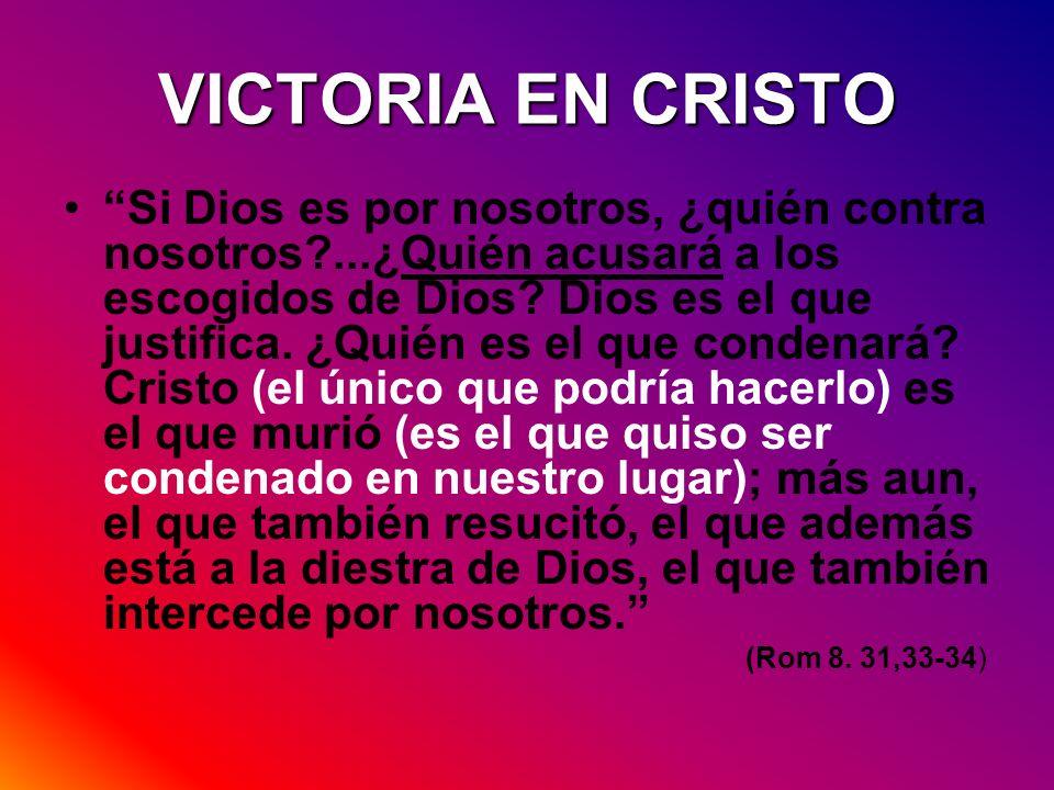 VICTORIA EN CRISTO