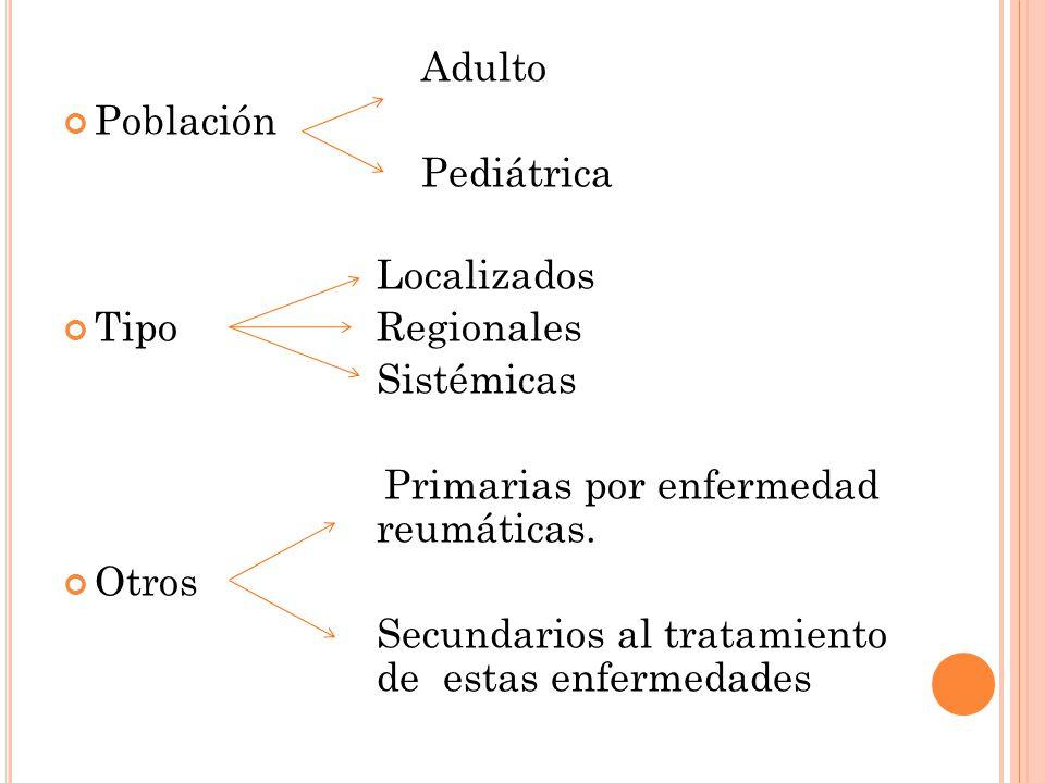 Primarias por enfermedad reumáticas. Otros